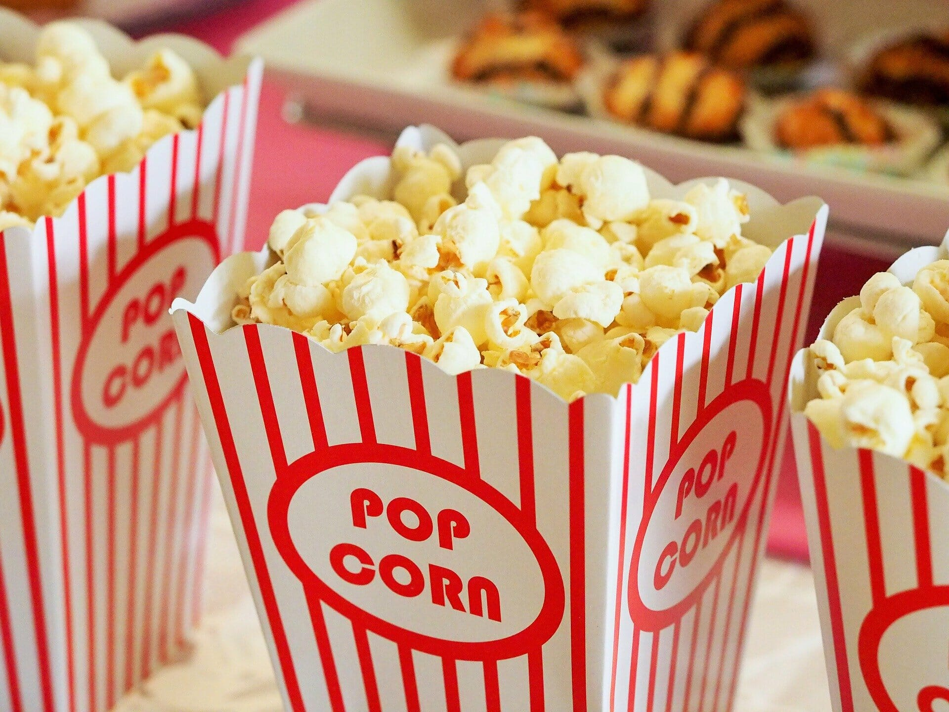 popcorn tubs to take to the cinema