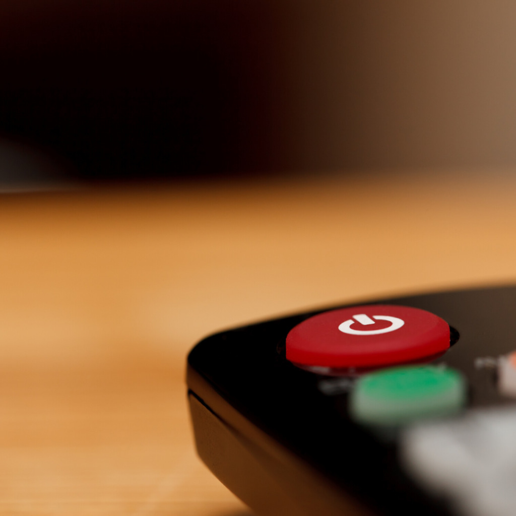 TV Remote to use for online classes when exercising in lockdown